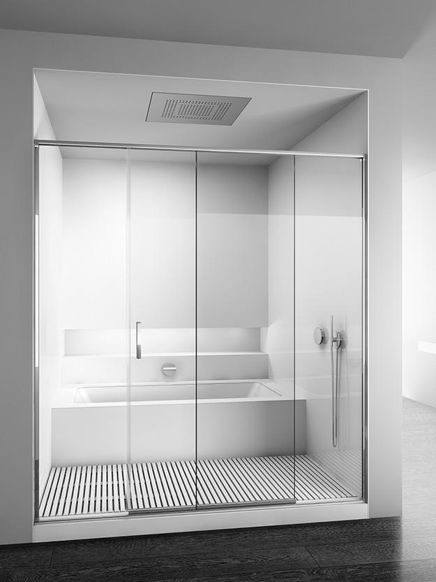 Box doccia per sostituzione vasca incluso piatto sogno - Sostituzione vasca in doccia ...