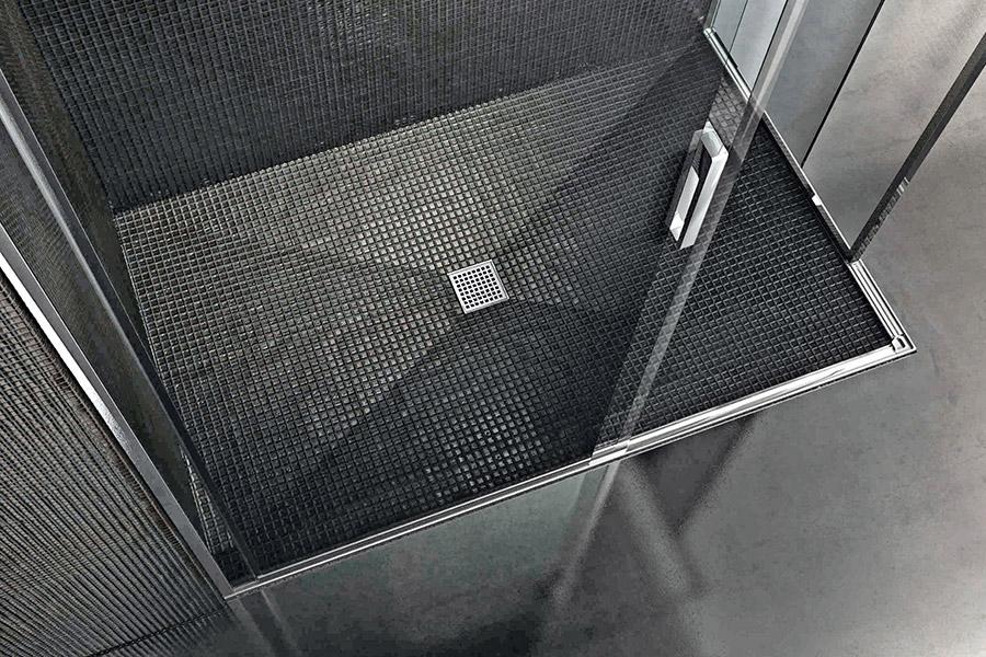 Piatto doccia filopavimento da rivestire basic shower - Piatto doccia piastrellabile ...