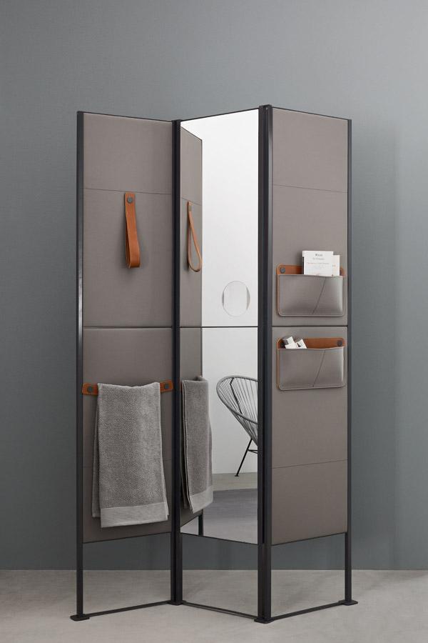 Customisable modular folding screen shade - Paravent salle de bain ...