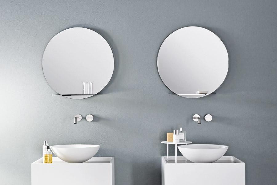 Specchio con mensola integrata, Tender Mirror