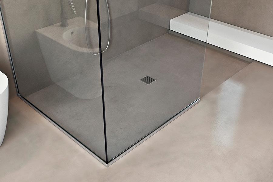 Piatto doccia filopavimento da rivestire basic shower - Piatto doccia a filo pavimento svantaggi ...